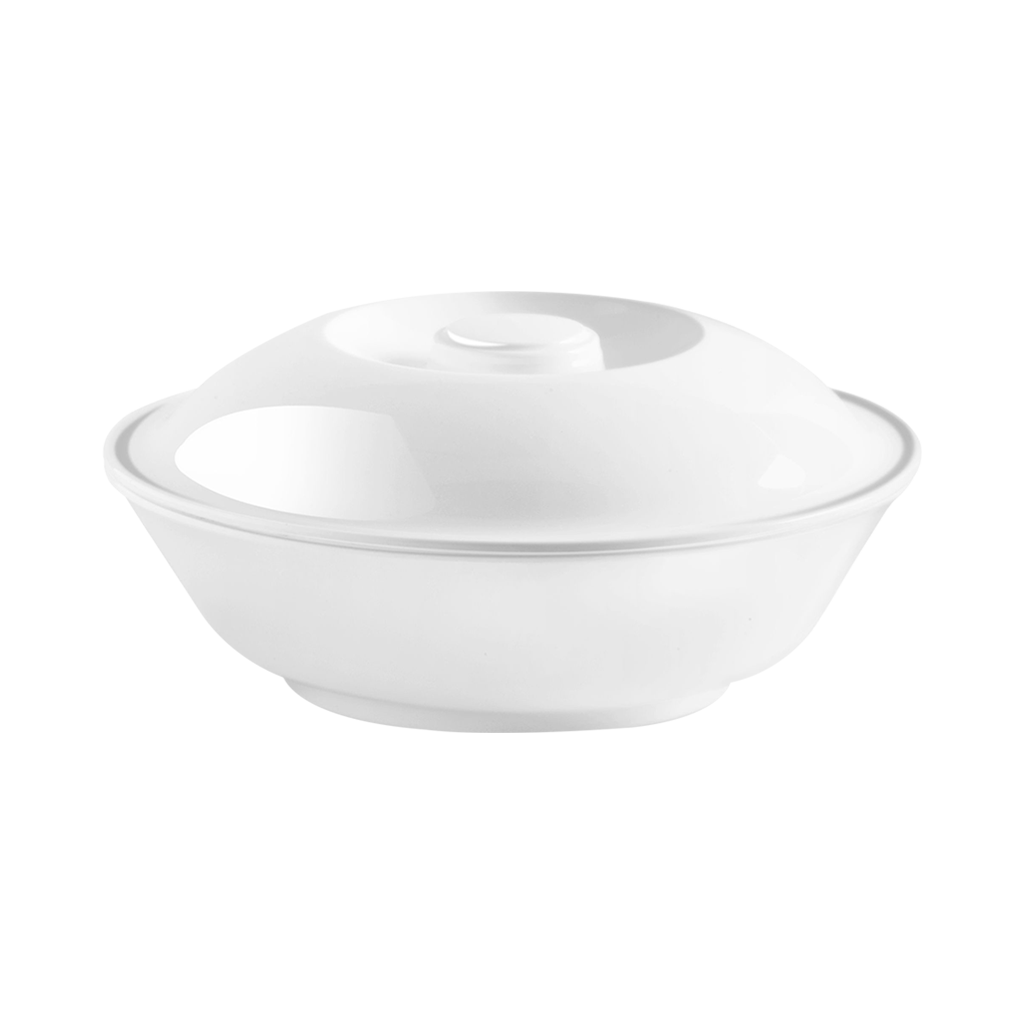 Lissome Serving Bowl With Lid Milton